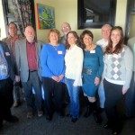 Featured authors for the AAUW Twin Rivers (NC) 9th annual Local Author's Luncheon held on Saturday, January 30th, 2016.